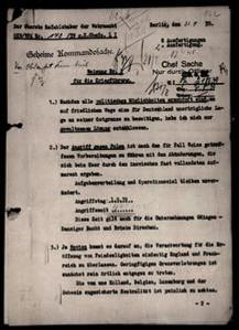 Adolf Hitler, 31 agosto 1939