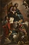 Madonna con i santi Giovanni Evangelista e Gregorio Taumaturgo
