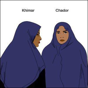 Khimar Chador