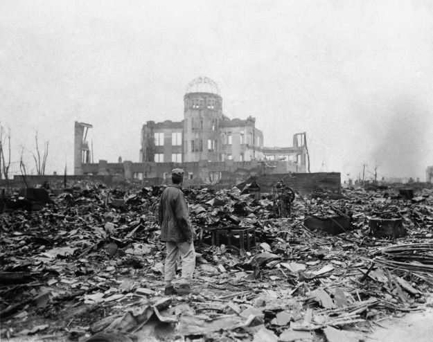 Hiroshima Prefectural Industrial Promotion Hall, the Atomic Bomb Dome
